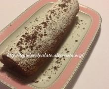 Rotolo alla crema al mascarpone e cioccolato